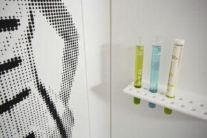 Sprchový kout - inlay umělý kámen LG Hi-Macs