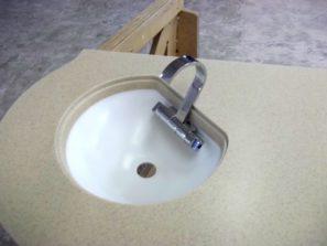Pracovní deska adřez - umělý kámen LG Hi-Macs