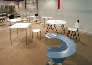 Designové židle astolky - umělý kámen LG Hi-Macs