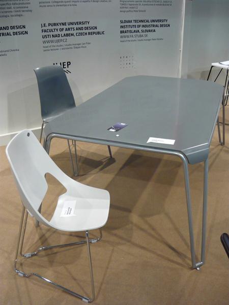 Designová židle astolek - umělý kámen LG Hi-Macs