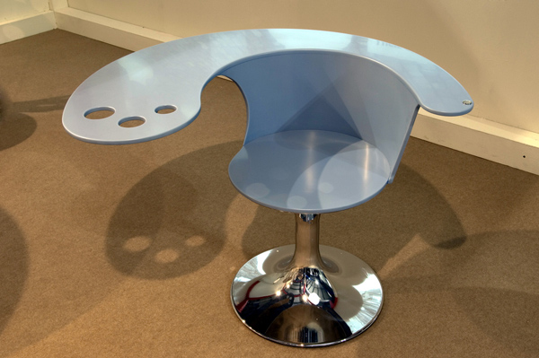 Designová židle - umělý kámen LG Hi-Macs